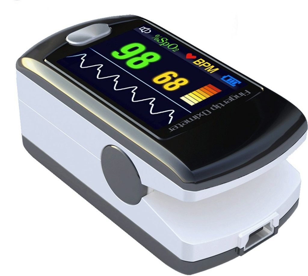 Monitoring a patient's blood oxygen level